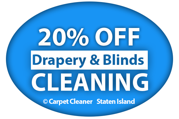 20 OFF FOR DRAPERY AND BLINDS CLEANING